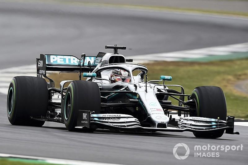 """Hamilton: """"Felicitaties aan Bottas, maar morgen is de race"""""""