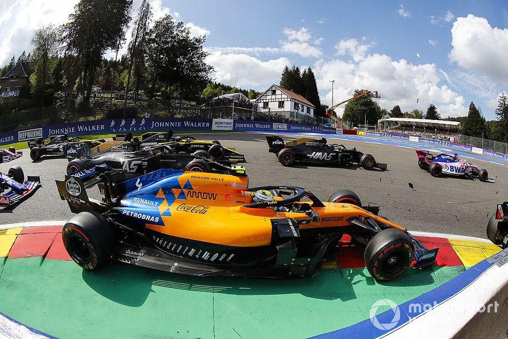Norris responds to Villeneuve's' simulator driving criticism