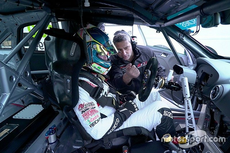 Ingall cuts first TCR laps