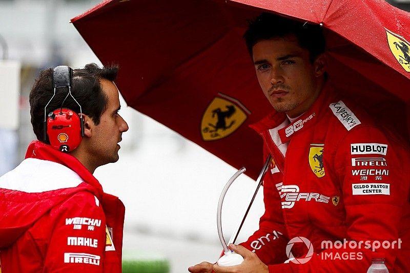 Leclerc sorprende a Ferrari por su crecimiento