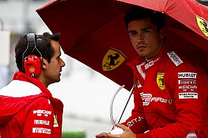 Leclerc causa sorpresa en Ferrari