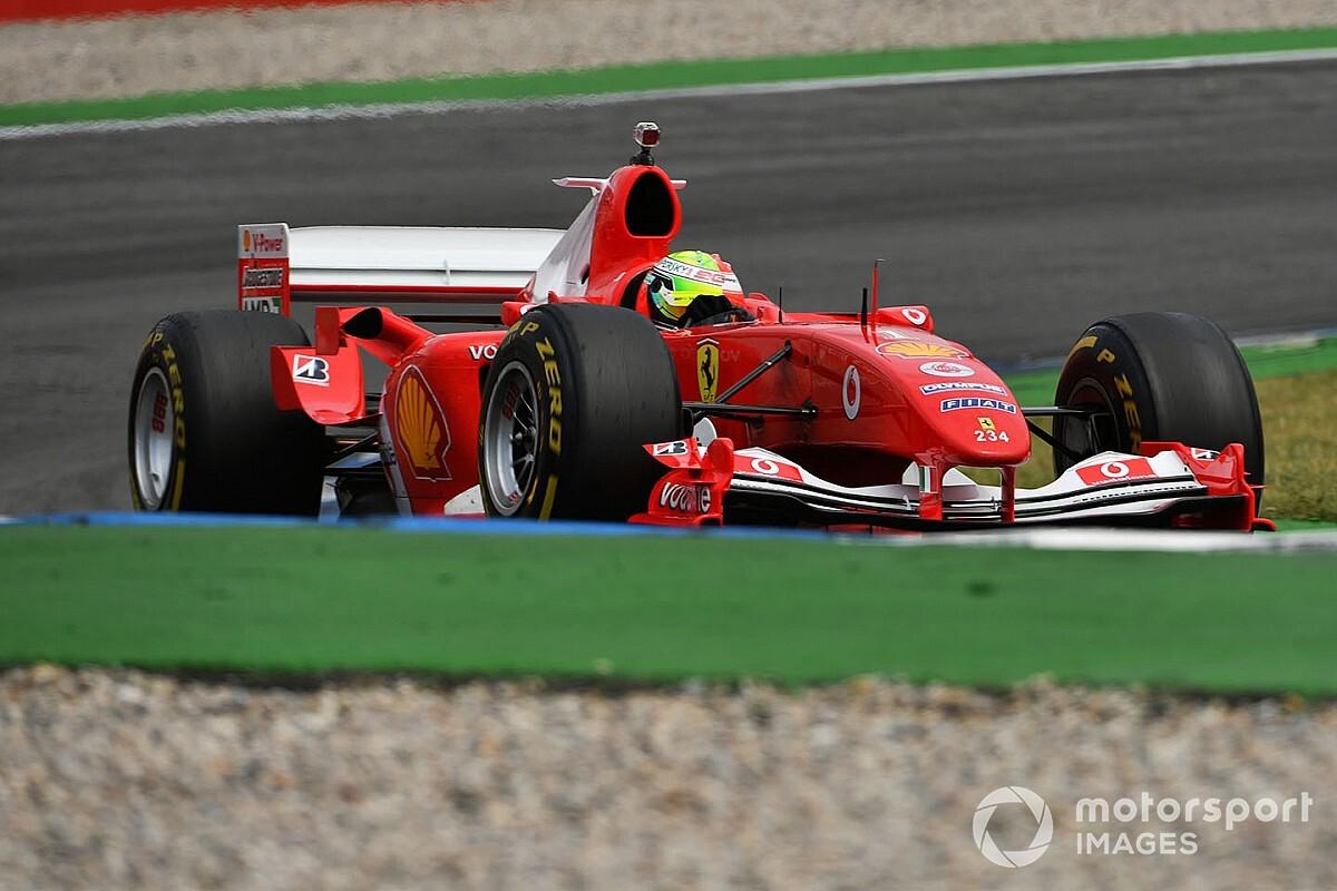 Schumacher pojeździ przed GP Toskanii
