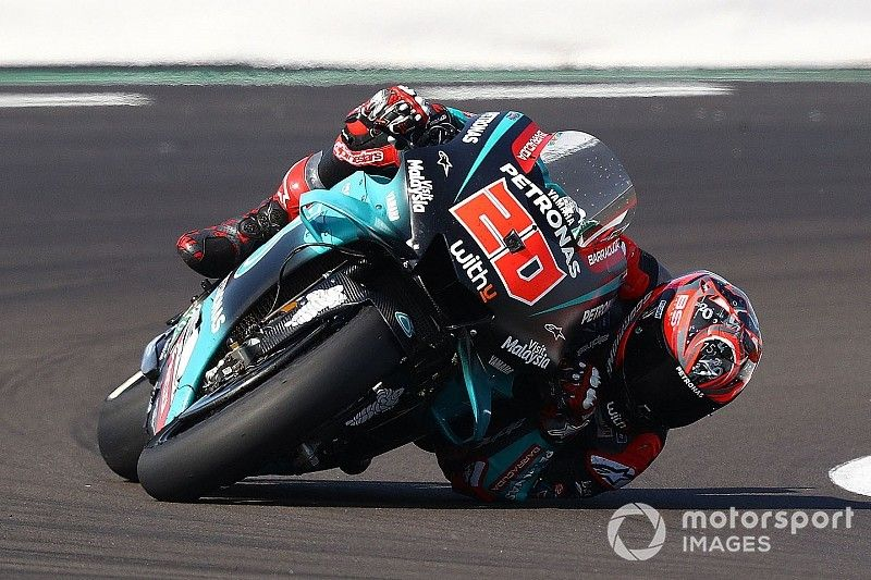 """Quartararo """"scared"""" by warning light in compromised qualifying"""