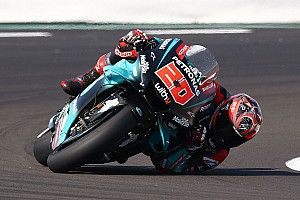 "Quartararo ""scared"" by warning light in compromised qualifying"