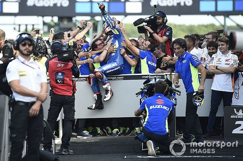 La clave del éxito de la filosofía de Suzuki en MotoGP