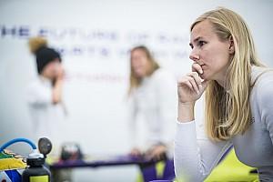 """Coulthard over Formule 1-kansen Visser: """"Ze heeft potentie"""""""