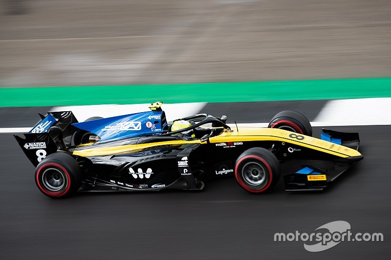 Silverstone F2: Ghiotto outduels Latifi for win