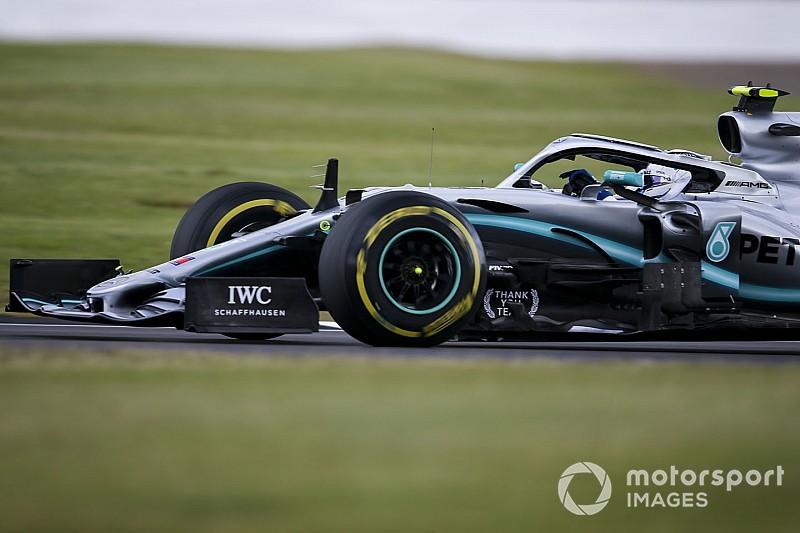 Bottas nyerte a második edzést Silverstone-ban Hamilton és Leclerc előtt