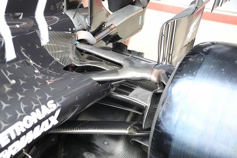 Mercedes: carrozzeria chiusa e un doppio soffiaggio sulla W10