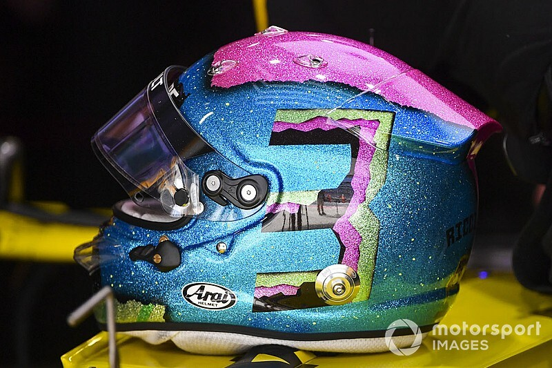La F1 abandonne la limitation des designs de casques