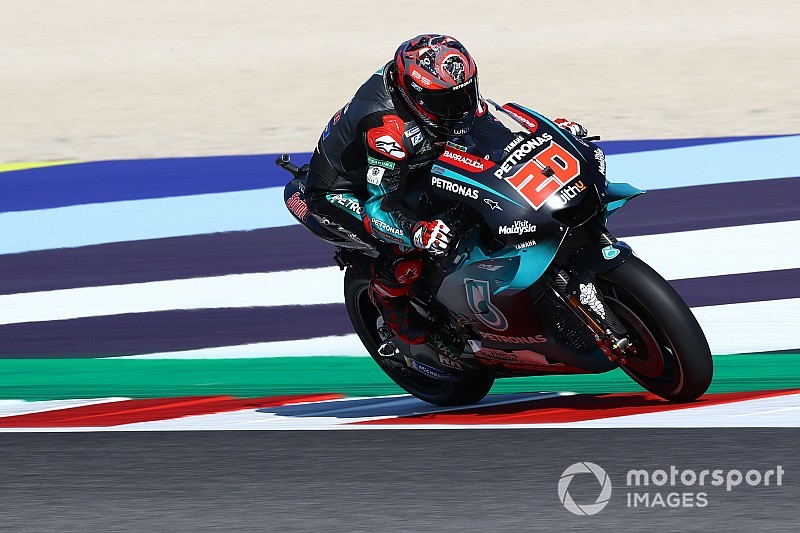 Misano MotoGP: Quartararo leads the way in FP1