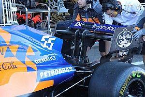 McLaren: la power unit di Sainz è ok, penalità in arrivo per Norris