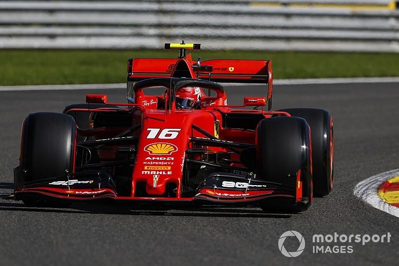 Belçika GP 2. antrenman: Leclerc, Vettel'in önünde lider