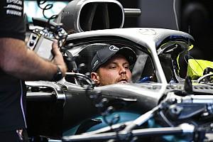 Valtteri Bottas ha fatto il sedile della Mercedes W11