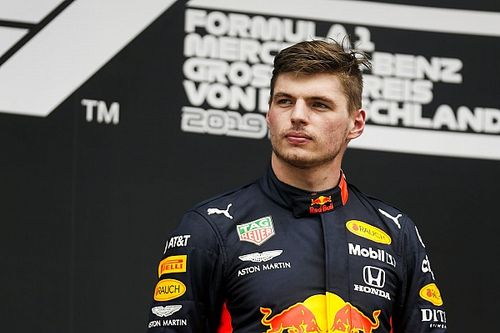 Verstappen descarta luchar por el título a pesar de ganar en Alemania