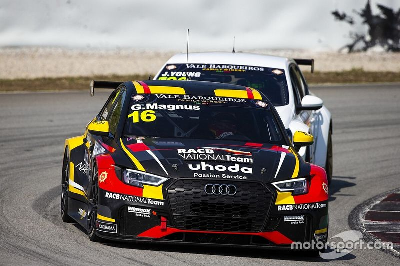 WTCR: Magnus tenta il salto Mondiale con l'Audi di RACB-Comtoyou