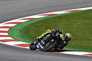 Rossi ungkap ketidaksenangan atas start ke-10