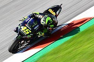 """Rossi: """"Ci mancano 10 km/h, ma siamo costanti con la gomma usata"""""""
