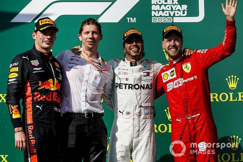 Macaristan GP: Hamilton, Verstappen'i geçerek kazandı!