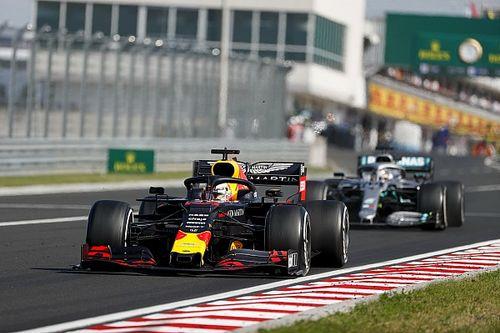 Verstappen: Pościg Hamiltona pokazuje przewagę Mercedesa