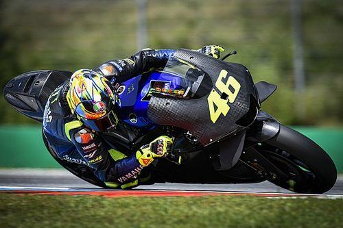 Jajal YZR-M1 2020, Rossi tak rasakan banyak perbedaan