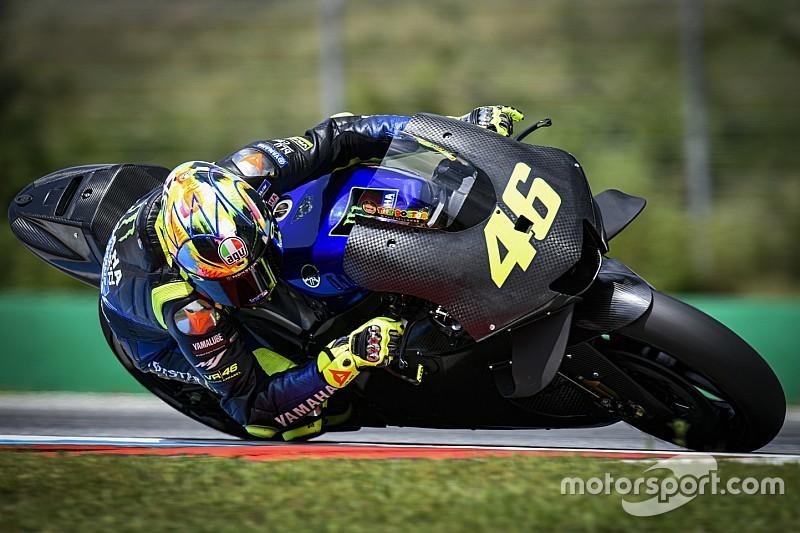 """Rossi: """"Il motore nuovo non va tanto più forte, ma è il primo step"""""""