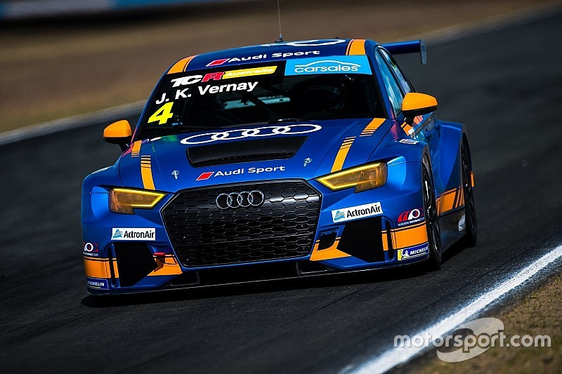 Ipswich TCR: Vernay dominates opener, drama for Brown