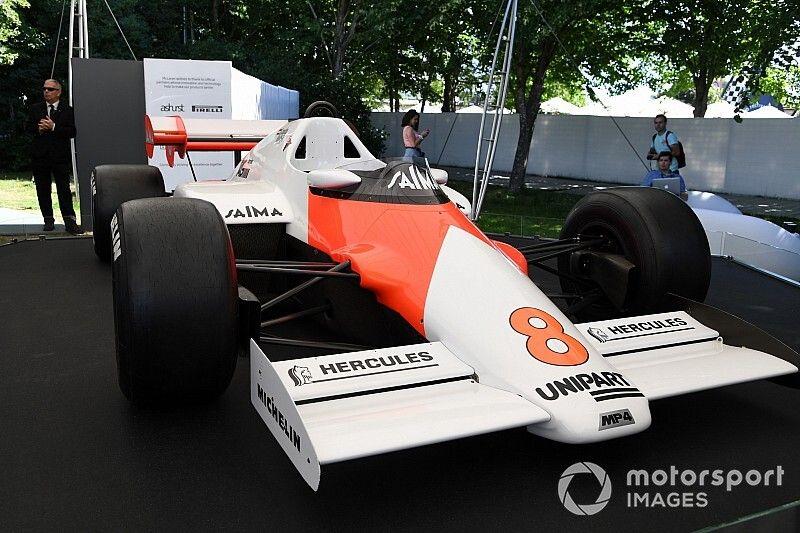 VÍDEO: McLaren de Lauda, Lotus de Andretti e Ferrari de Mansell e Berger; veja clássicos no maior festival do mundo