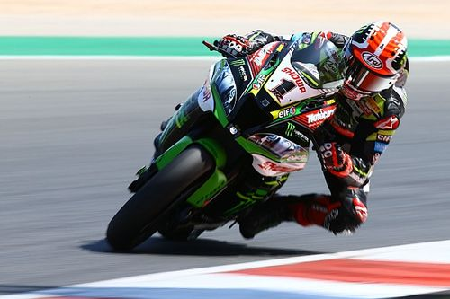 WSBK Portimao: Rea domineert in eerste race, Van der Mark derde