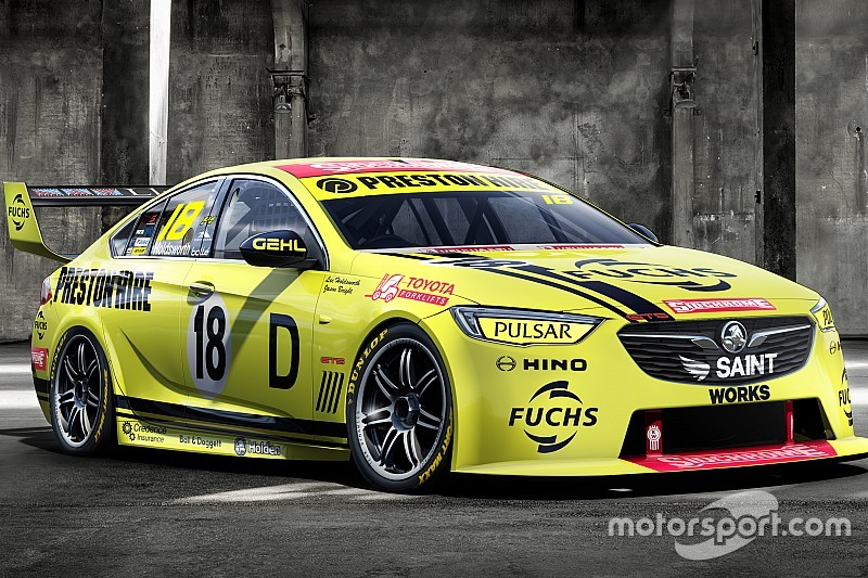 Team 18 celebrates Holden's first Bathurst winner