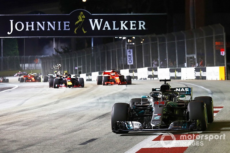 Live: Follow the Singapore GP as it happens
