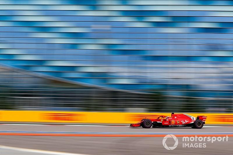 """Vettel: """"No fue un buen día, especialmente con los neumáticos"""""""