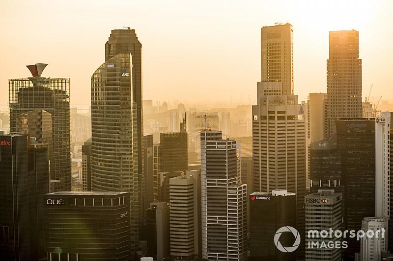 Képgaléria a Szingapúri Nagydíj csütörtöki napjáról