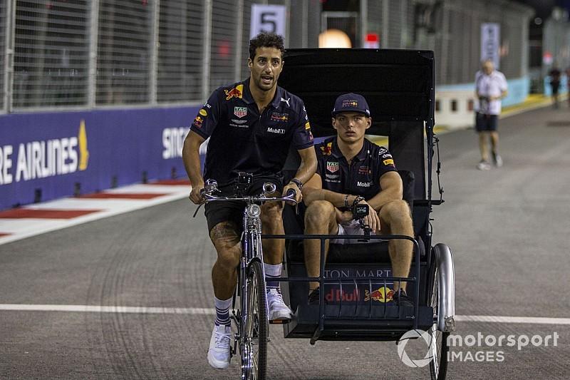 Ricciardo: Verstappen'in çok büyük bir potansiyeli var