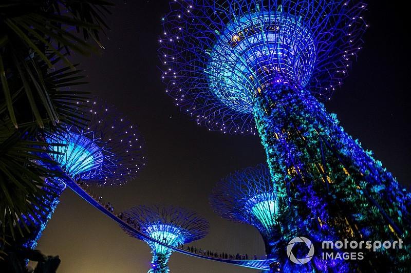 El jueves de Singapur, en fotos
