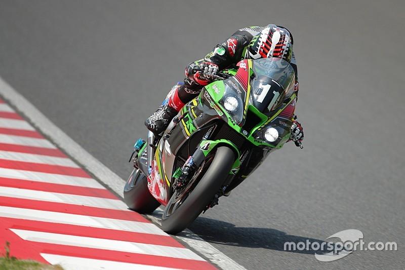 ジョナサン・レイが2分05秒台! Kawasaki Team GREEN予選総合トップ