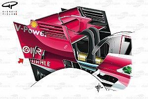 Analisis teknis: Ketika Ferrari ikut jiplak ide McLaren