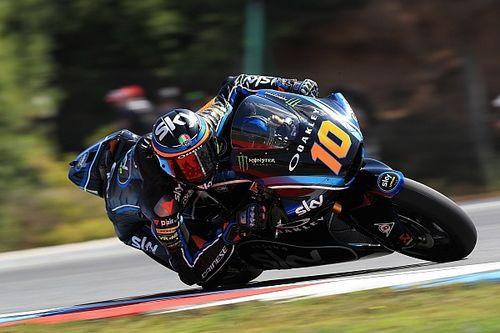 Marini se lleva su primera pole en Moto2