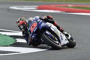 Silverstone MotoGP: Vinales fastest in dry morning warm-up