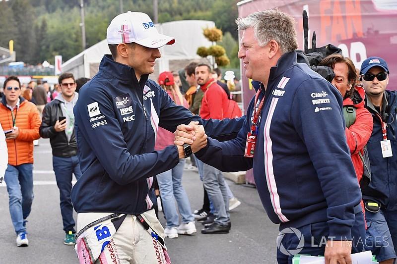 Ocon sugiere que Pérez se queda en Force India por su dinero