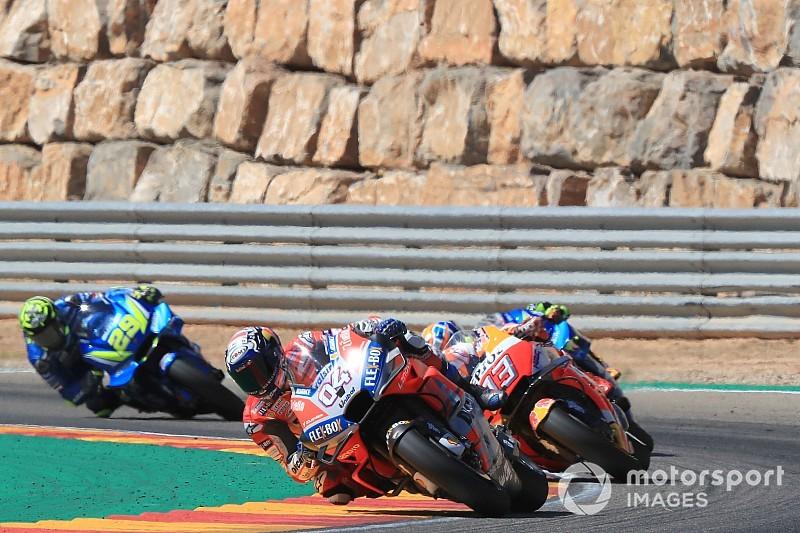"""Dovizioso: Aragon P2 """"more important"""" than Misano win"""