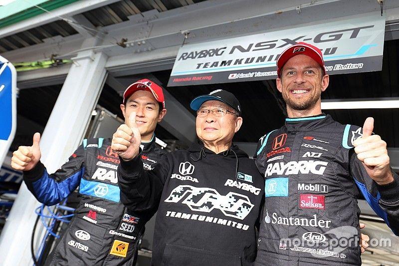 "Honda team boss hails Button's Super GT ""devotion"""