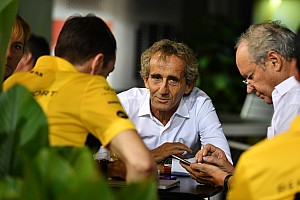 """Prost confia em Renault: """"Teremos um dos melhores motores novamente"""""""