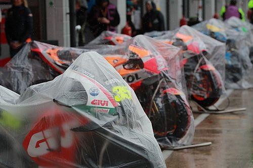 Photos - Quand le GP de Grande-Bretagne prend l'eau