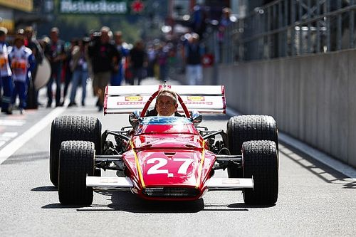 Fotostrecke: Jacky Ickx fährt den Ferrari 312B in Spa