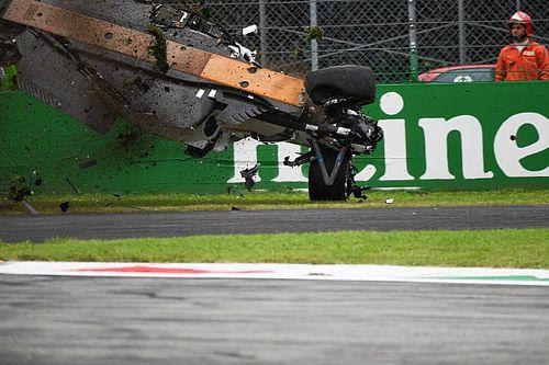 Galería: así fue el espeluznante accidente de Ericsson en Monza
