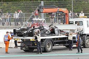 Brutto incidente e frattura alla caviglia per Bruno Senna. Il brasiliano salta Silverstone