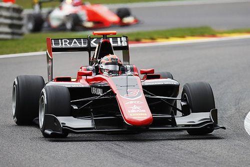 Nikita Mazepin centra il terzo stagionale in Gara 2 a Spa-Francorchamps