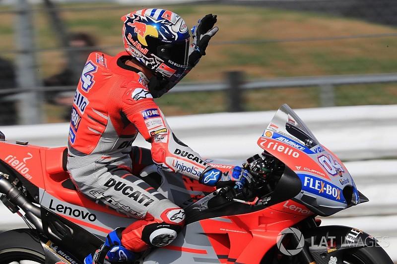 """Dovizioso: """"Los más rápidos somos Viñales, Márquez, Crutchlow y yo"""""""
