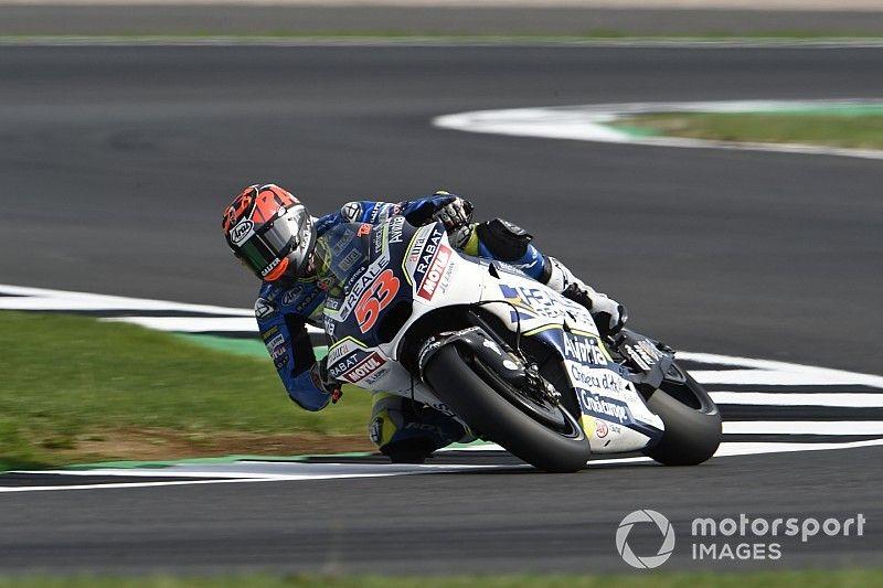 Rabatot sürgősen meg kellett műteni Silverstone-ban